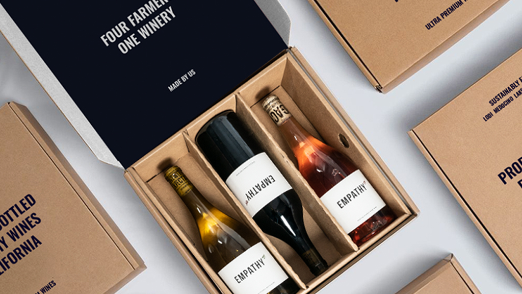 Empathy Wines Packaging Design